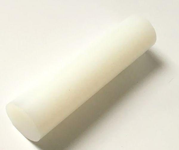 Kunststoffrundstange aus PVDF natur