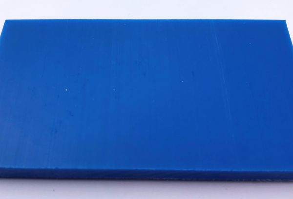 Schneidbrett blau 30 x 400 x 1000 mm