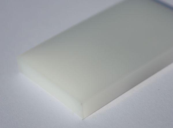 Kunststoffplatte aus PE1000 ( PE-UHMW) natur
