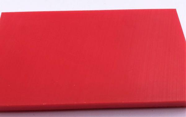 Schneidbrett rot 30 x 400 x 1000 mm