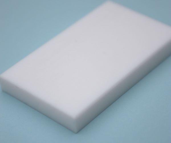 Kunststoffplatte aus PTFE rein