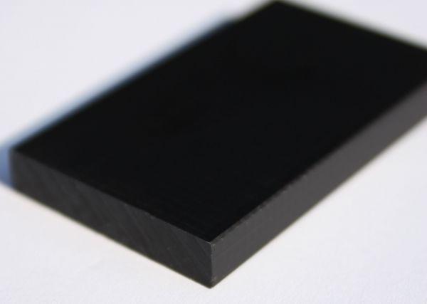 Kunststoffplatte aus PA6 G schwarz